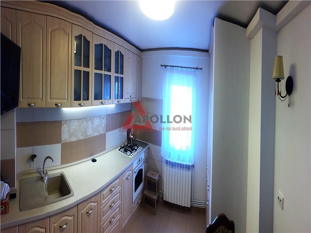 Apartament 3 camere lux mobilat si utilat