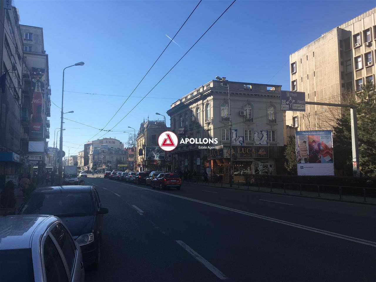 Spatiu comercial Bdul Dacia, langa ASE. Trafic pietonal intens