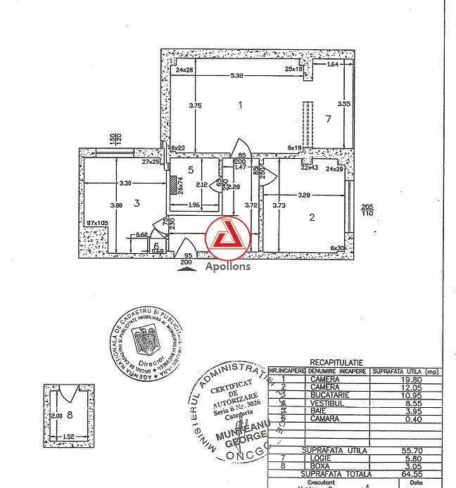 Dacia, Gradina Icoanei, apartament cochet pentru resedinta