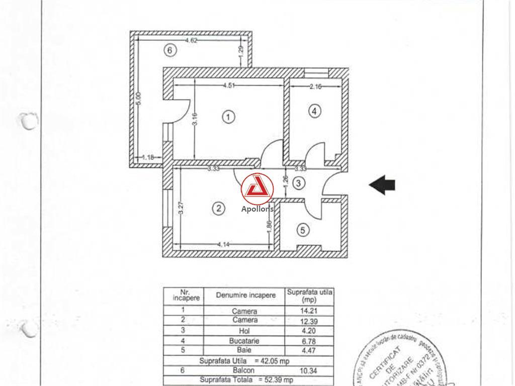 2 camere bloc nou, Dimitrie Leonida, comision 0