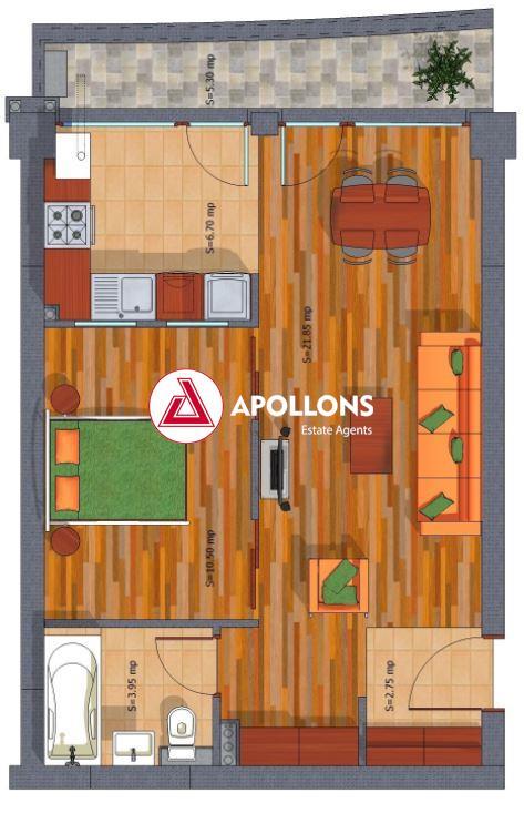 Apartament 2 camere 1 Decembrie / Pallady
