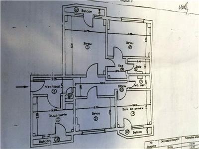 Ocazie ! Apartament 4 Cam. 100 Mp-UNIRII / FANTANI Bucuresti