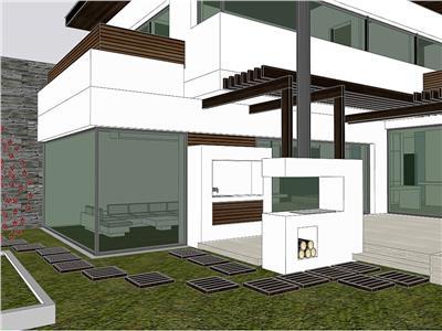 Vila Chitila Mogosoaia arhitectura deosebita, amplasare facila