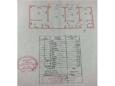 Vanzare Apartament 3 camere,13 Septembrie - Monitorul Oficial
