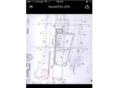 Teren cu Autorizatie construire, zona Piata Romana