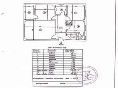 Vanzare apartament  3 camere, 13 Septembrie  Prosper