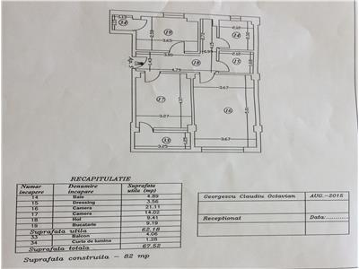 Vanzare Apartament 2 camere, bloc nou, 13 Septembrie - Panduri