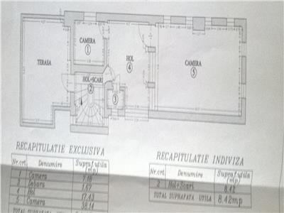 Domenii duplex in vila, curte proprie, terase,