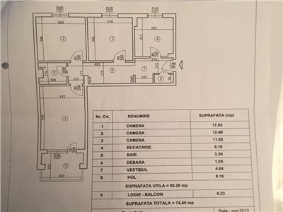 Vanzare Apartament 3 camere, Dorobanti, ideal investitie