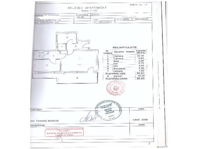 Vanzare Apartament 2 camere, Dorobanti- stradal