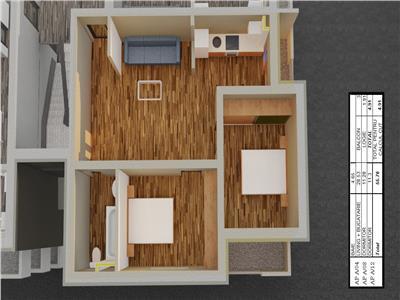 Vanzare Apartament Nou 3 camere  Hipodrom 4, Sibiu