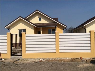 Casa individuala  la cheie, toate utilitatile, finalizata, Domnesti