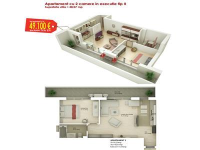 Vanzare Apartament Noi Hipodrom 4, Sibiu