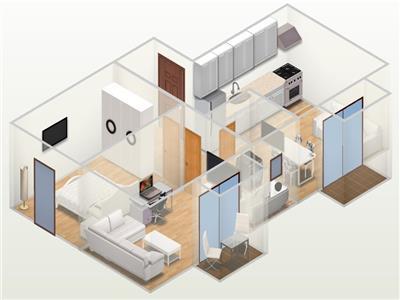 Vanzare Apartament Nou 3 Cam - Central, Cluj