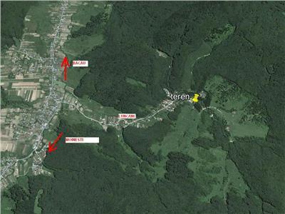 Vanzare teren Luncani - Slatina , 1700 mp intravilan, Bacau