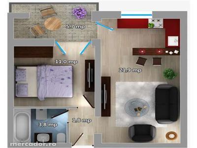 Vanzare Apartament Podul de Fier, Iasi