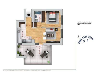 Apartament nou - 2CD zona Noua, Brasov