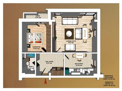 Apartament Nou Copou, Iasi, COMISION 0 %